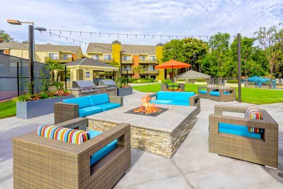 Amenities at apartments in Irvine
