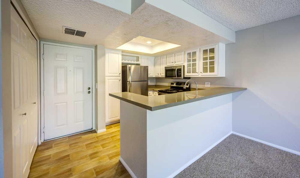 Beautiful kitchen at Sofi Irvine in Irvine, CA