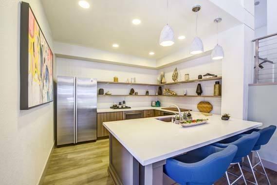 Kitchen at Sofi Irvine in Irvine, CA
