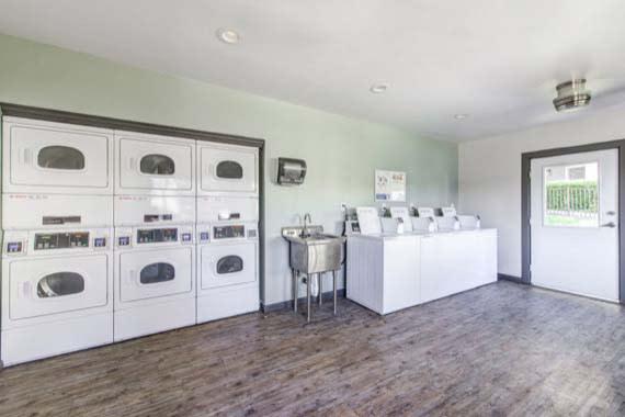 Laundry room at Sofi Poway in Poway