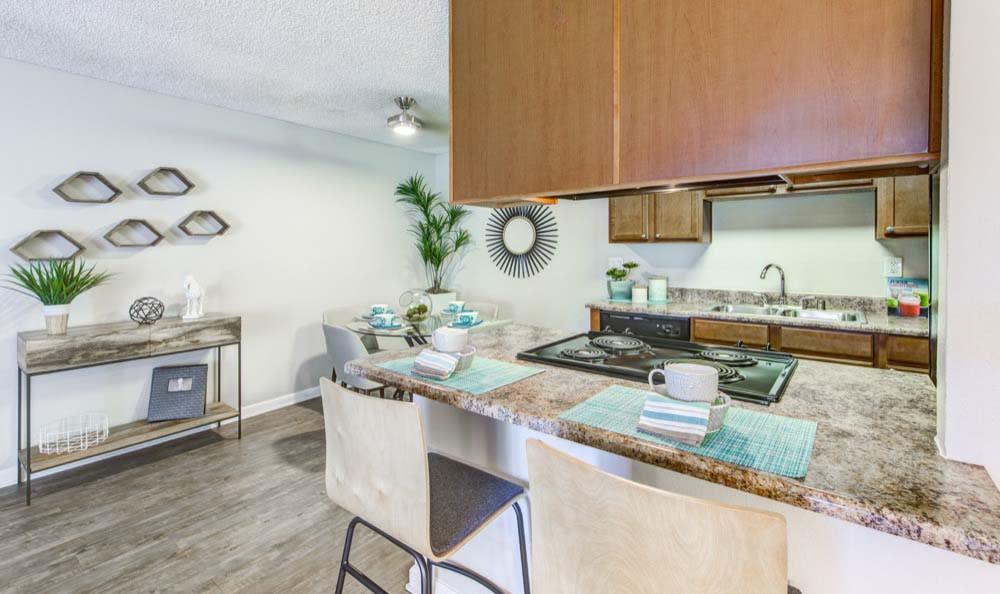 Modern kitchen at Sofi Poway in Poway, CA