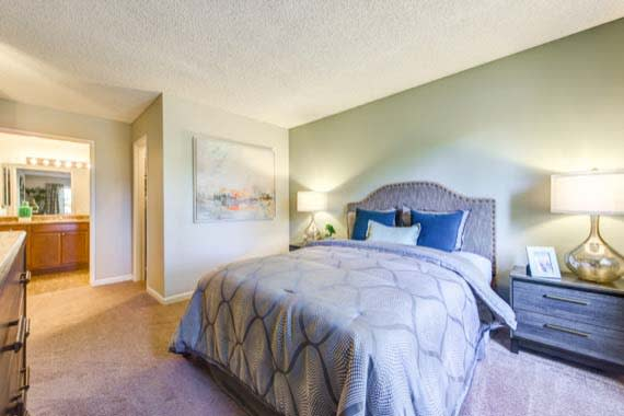 Bedroom at Sofi Poway in Poway
