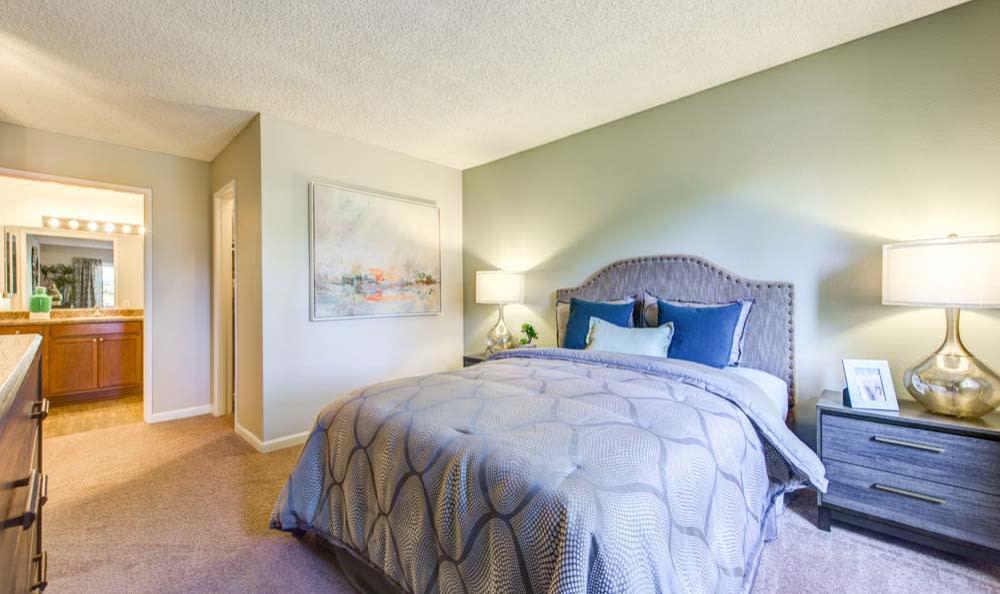 Beautiful bedroom at Sofi Poway in Poway, CA