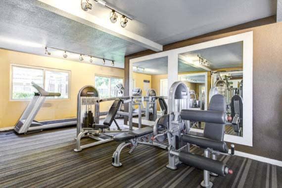 Fitness center at Sofi Poway in Poway