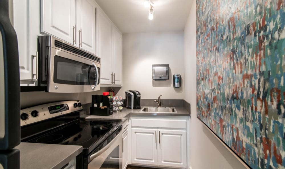 Fully Equipped Kitchen at apartments Verse in San Diego, CA