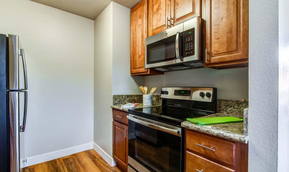 Enjoy a modern kitchen at apartments Verse in San Diego, CA
