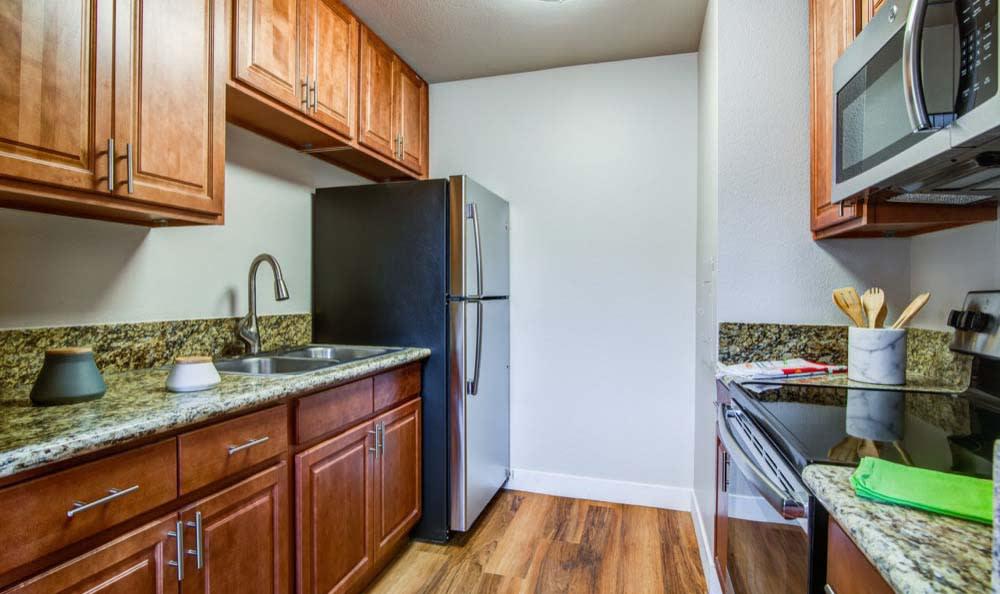 Verse offers a modern kitchen in San Diego, CA