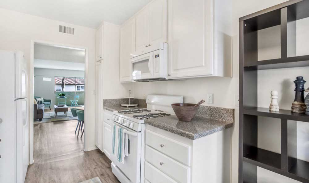 Beautiful kitchen at apartments in Thousand Oaks, CA