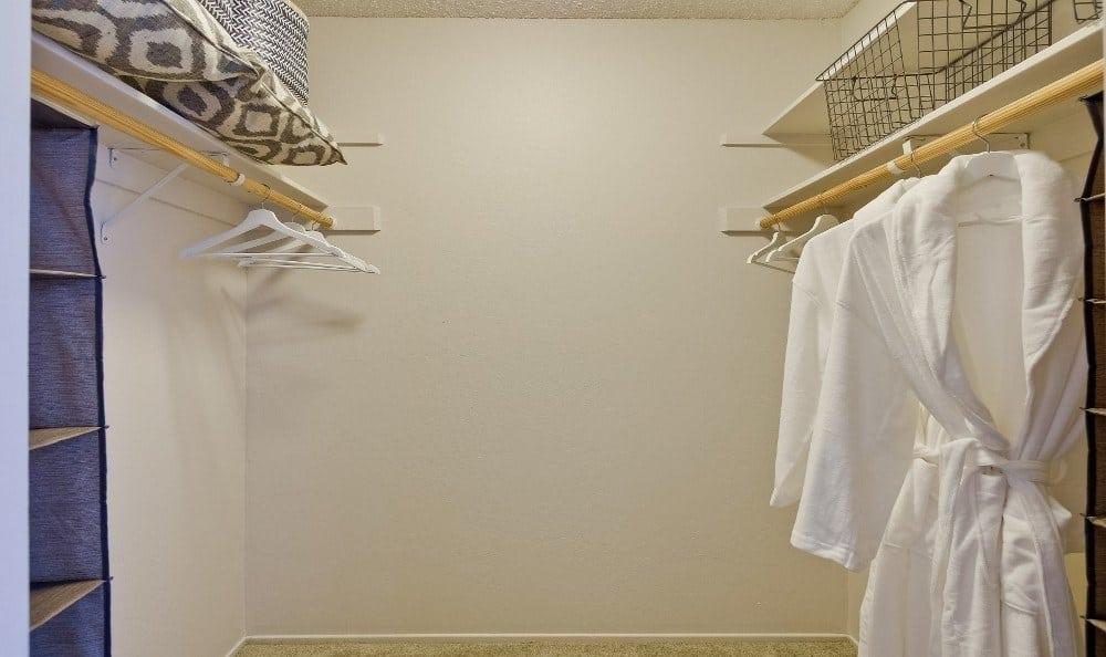 Bedroom Closet at Terra Willow Glen in San Jose