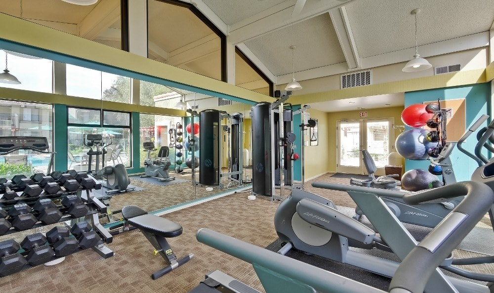 Gym Room at Terra Willow Glen in San Jose
