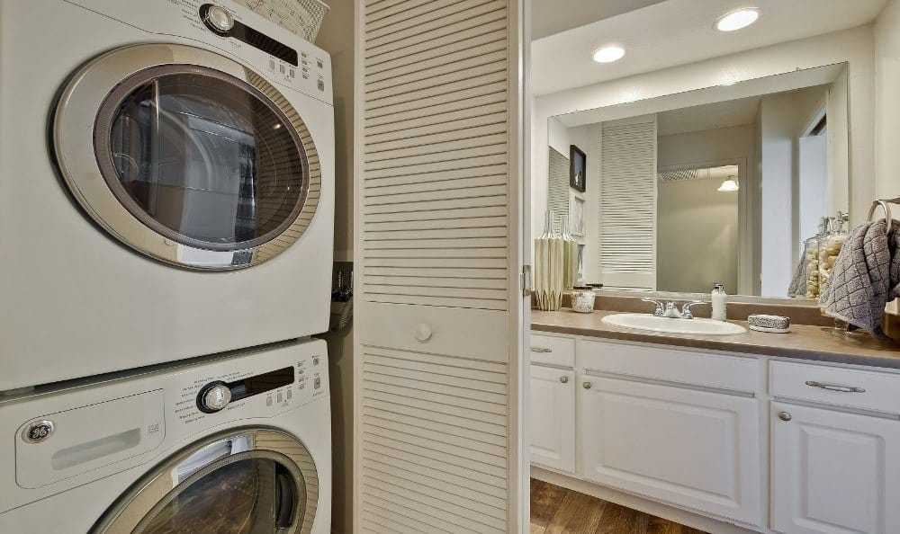 Laundry Room at Terra Willow Glen in San Jose