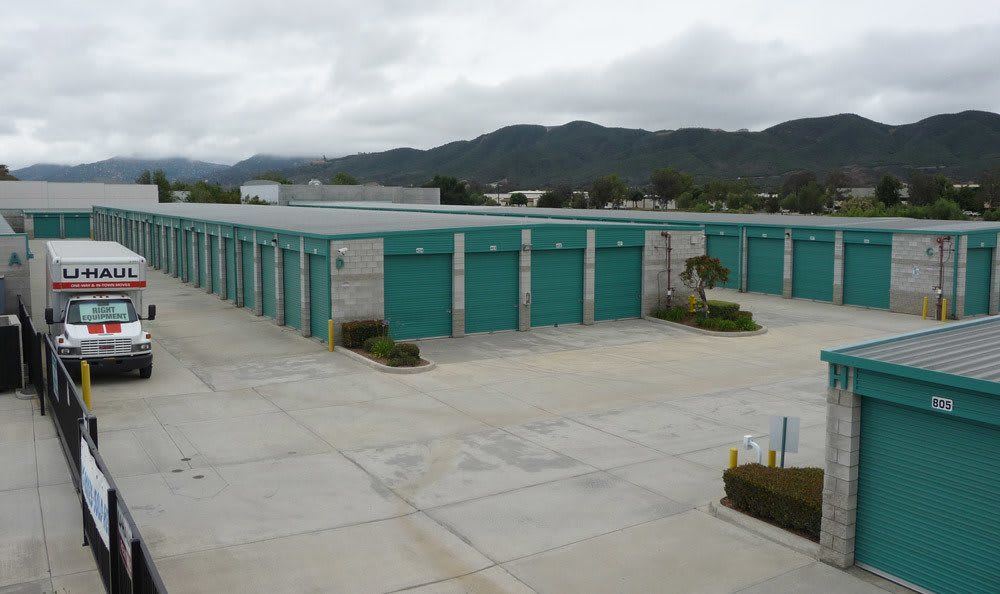 Exterior to our Temecula, CA self storage facility.