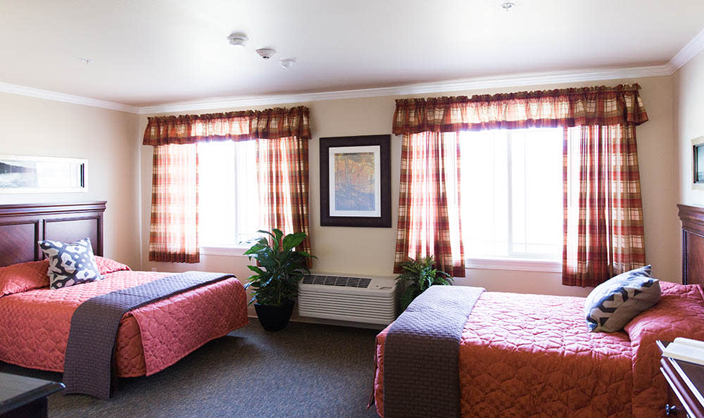 Shared Room in Hendersonville at Hickory Hills Alzheimer's Special Care Center