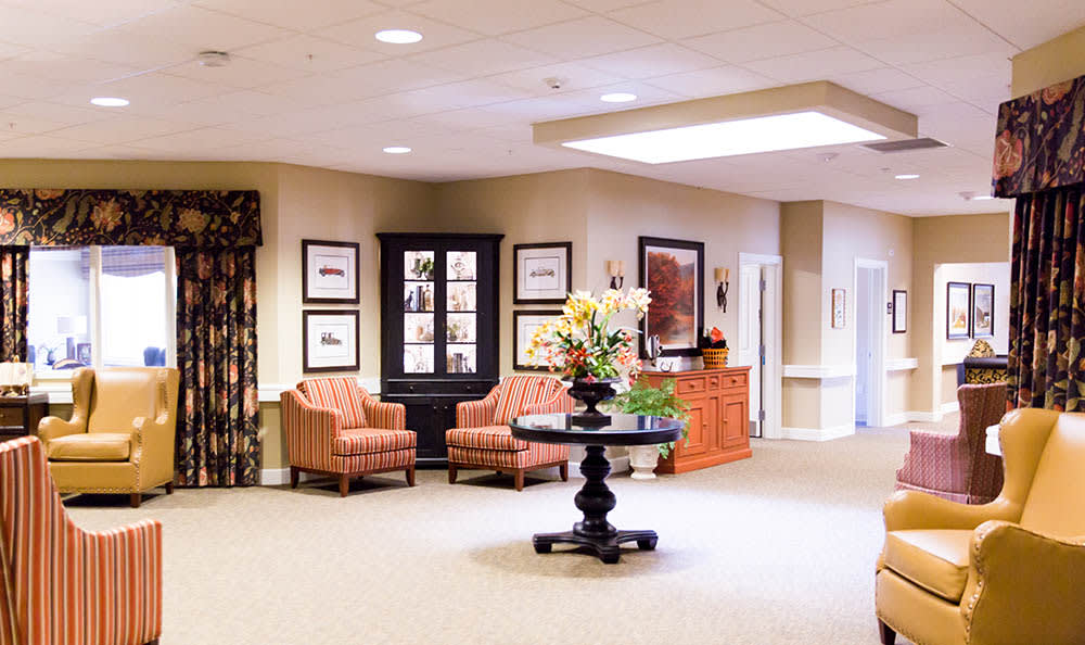 Interior Commons of Pheasant Run Alzheimer's Special Care Center
