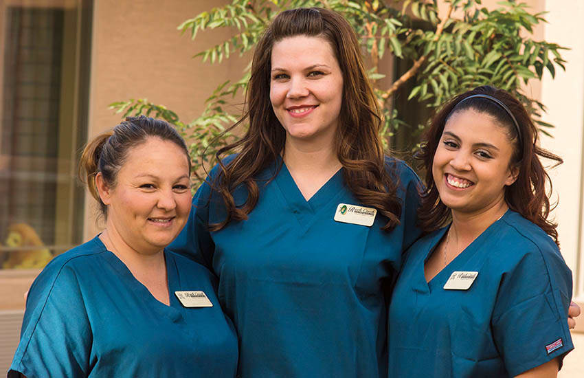 Meaningful careers at Hudson Creek Alzheimer's Special Care Center
