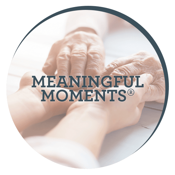 Learn about JEA Senior Living's Meaningful Moments program