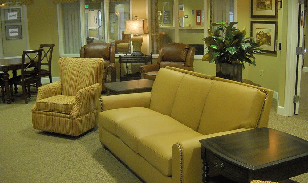 Sitting Area at Caleo Bay Alzheimer's Special Care Center