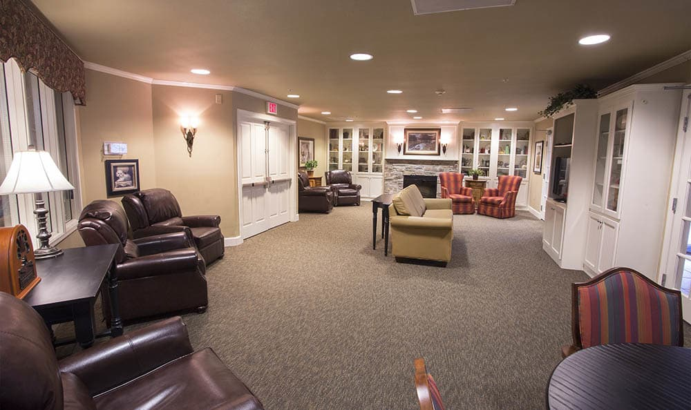 Media Room At Amber Glen Alzheimer's Special Care Center