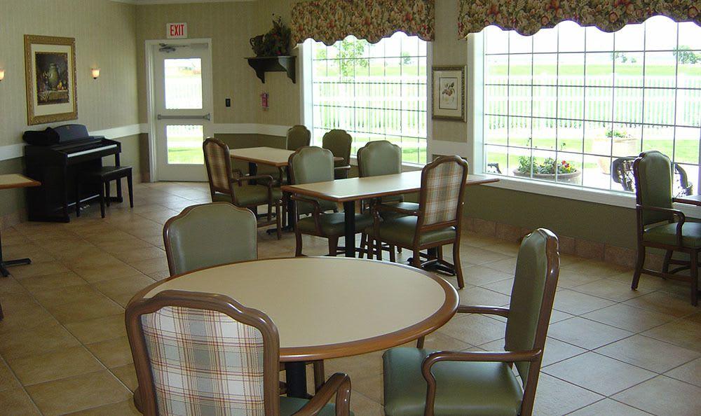 Aspen Ridge Alzheimer's Special Care Center Back Dining in Grand Junction