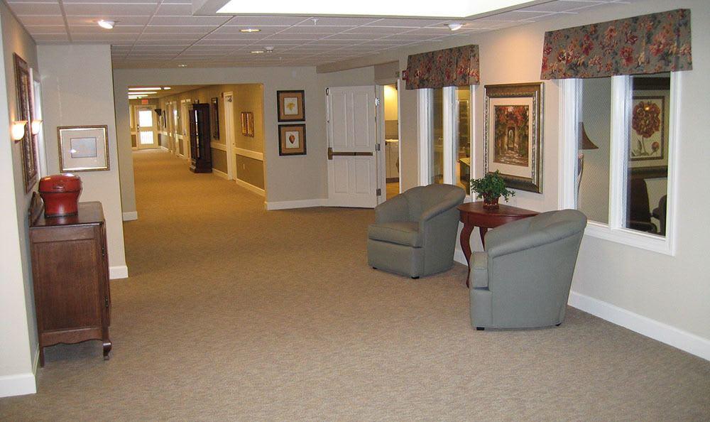 Hallway at Aspen Ridge Alzheimer's Special Care Center in Grand Junction