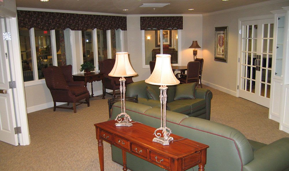 Living Room in Aspen Ridge Alzheimer's Special Care Center in Grand Junction