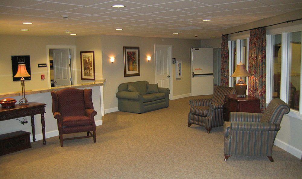 Lobby at Aspen Ridge Alzheimer's Special Care Center in Grand Junction