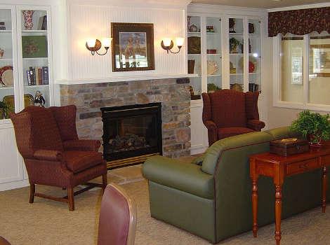 Living room at Aspen Ridge Alzheimer's Special Care Center in Grand Junction