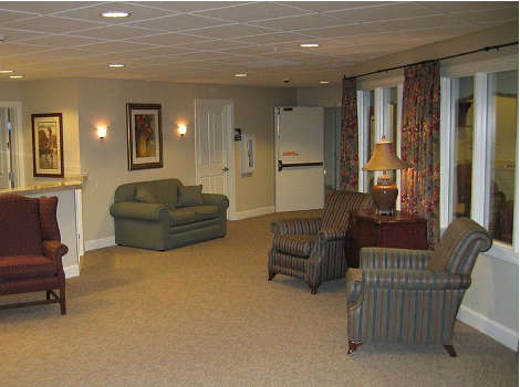 Lobby at Aspen Ridge Alzheimer's Special Care Center in Grand Junction