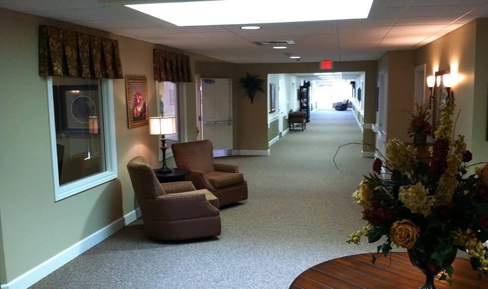 Hallway at Autumn Hills Alzheimer's Special Care Center