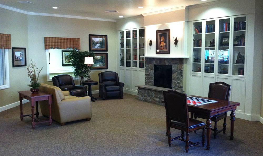 Indoor Lounge at Autumn Hills Alzheimer's Special Care Center