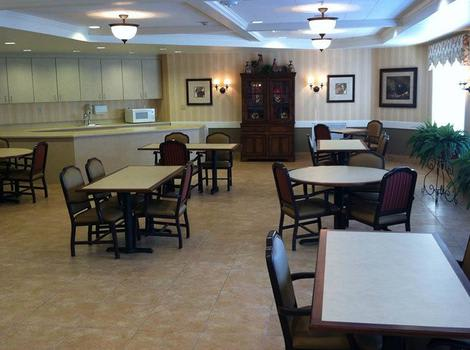 Dining Area at Autumn Hills Alzheimer's Special Care Center