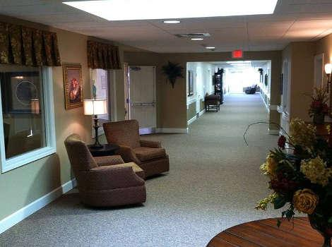 Hallway at Autumn Hills Alzheimer's Special Care Center