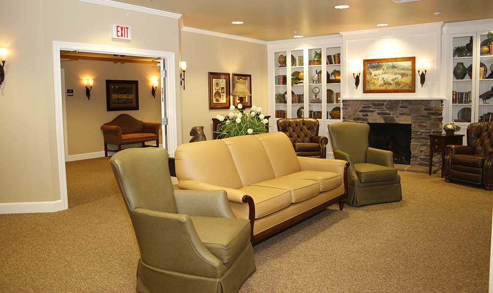 Barathaven Alzheimer's Special Care Center Common Area