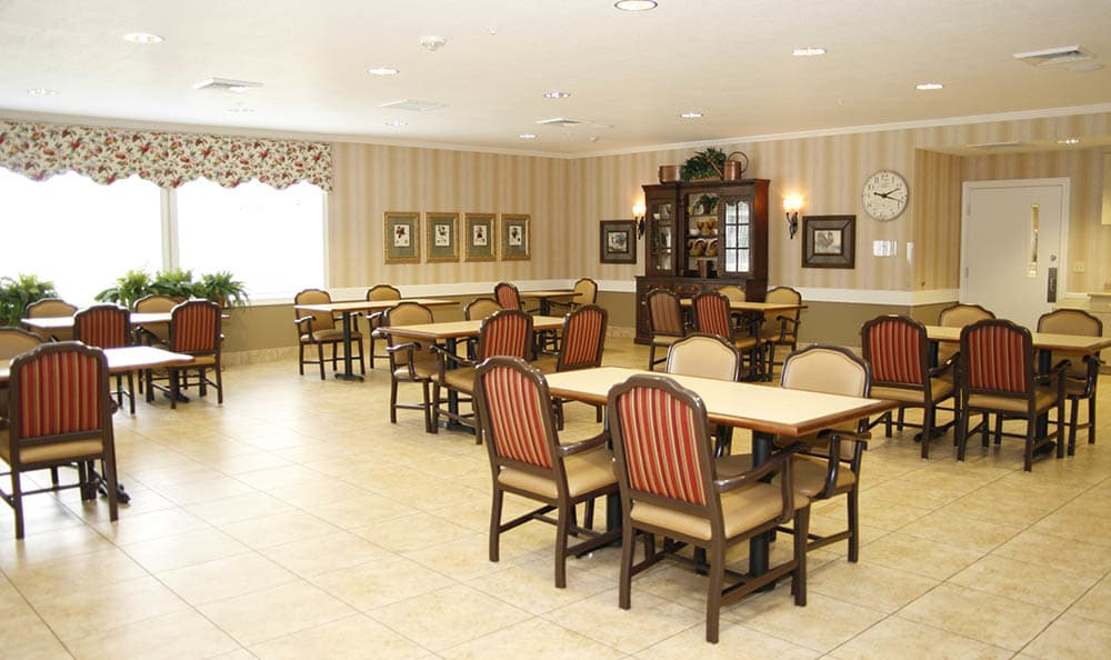 Barathaven Alzheimer's Special Care Center Dining Area