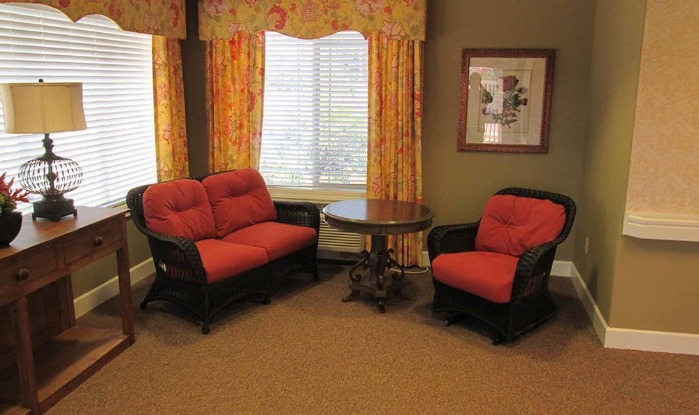 Sun Room at Blossom Grove Alzheimer's Special Care Center