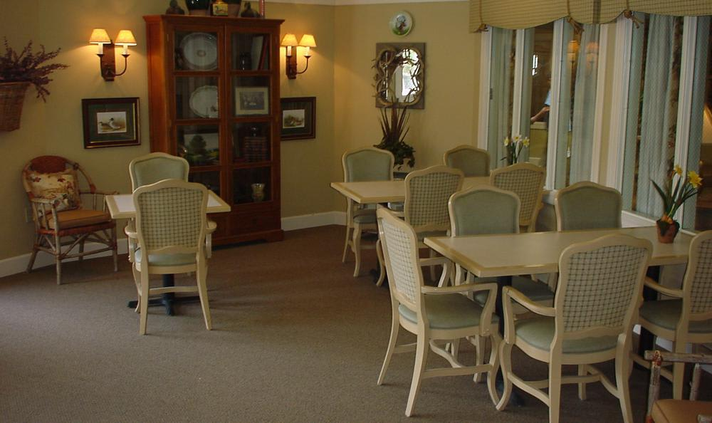 Activities Room at Callaway Gardens Alzheimer's Special Care Center in Kennewick