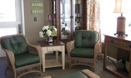 Sunroom at Cedar Ridge Alzheimer's Special Care Center in Cedar Park