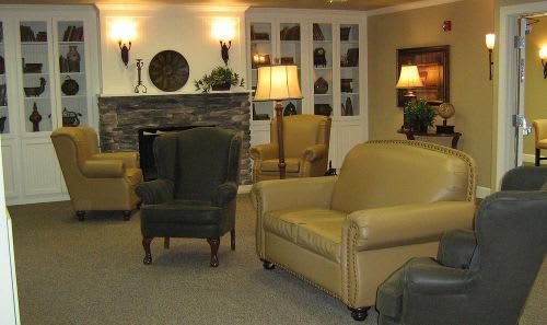 Living Room at Cedar Ridge Alzheimer's Special Care Center in Cedar Park