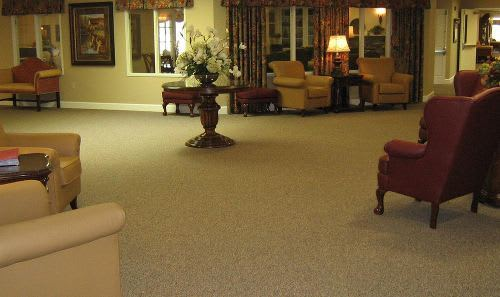 Common Area at Cedar Ridge Alzheimer's Special Care Center in Cedar Park