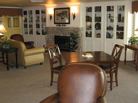 Living Room in Cinco Ranch Alzheimer's Special Care Center