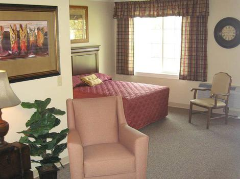 Model Room in Cinco Ranch Alzheimer's Special Care Center