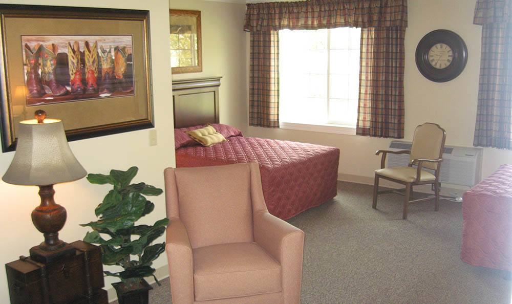 Model Room in Cedar Ridge Alzheimer's Special Care Center