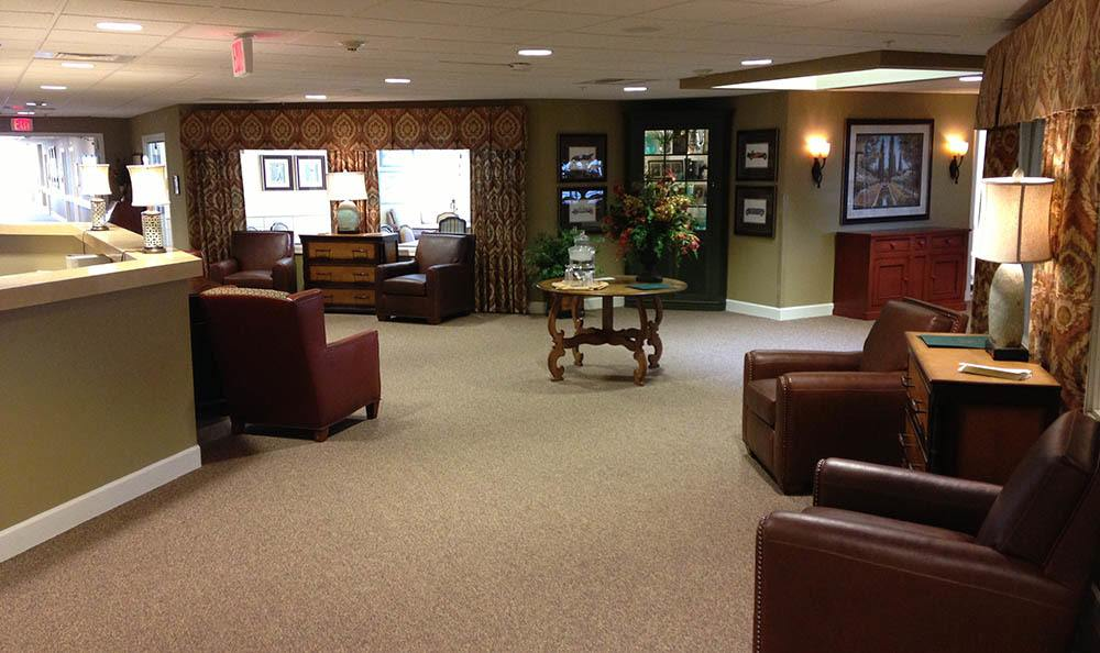 Copper Canyon Alzheimer's Special Care Center Front Lobby