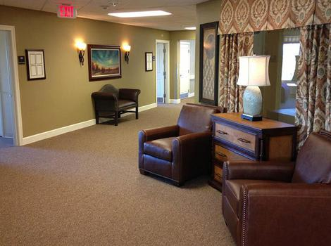 Corridor in Copper Canyon Alzheimer's Special Care Center
