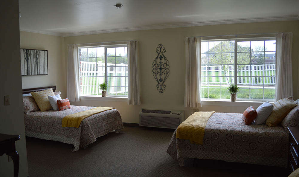 Shared Room At Glen Oaks Alzheimer's Special Care Center