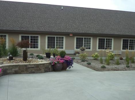Exterior view of our installations at Grand View Alzheimer's Special Care Center