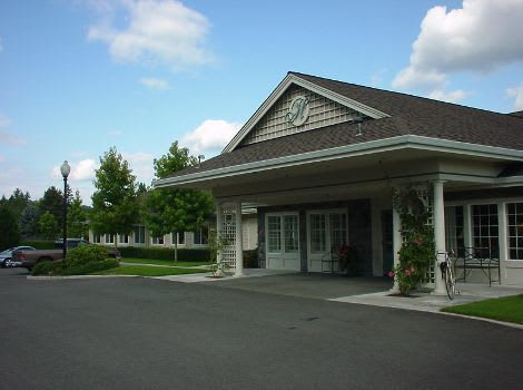 front view at The Hampton Alzheimer's Special Care Center in Tumwater, WA