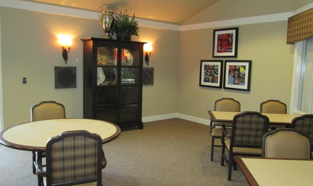Common Area at High Plains Alzheimer's Special Care Center in Lincoln