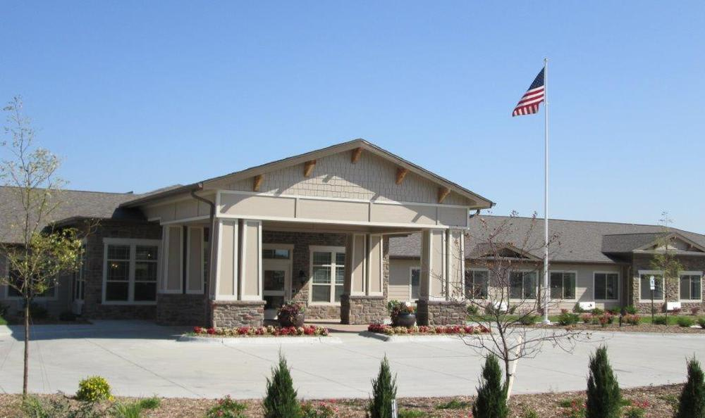 Exterior View at High Plains Alzheimer's Special Care Center in Lincoln