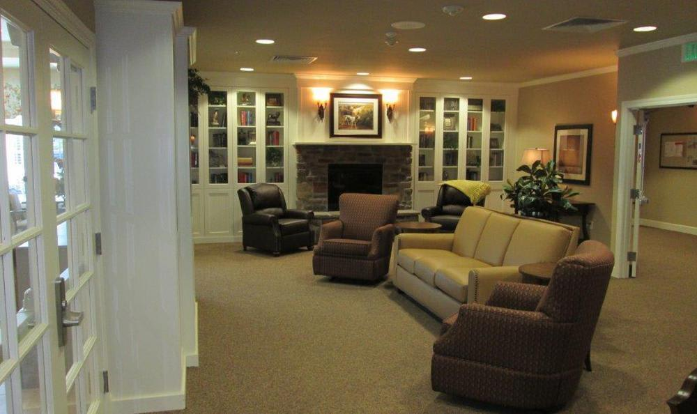 Living Room at High Plains Alzheimer's Special Care Center in Lincoln